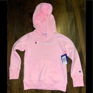 Champion Girls Hoodie - Pink Candy - Size 6